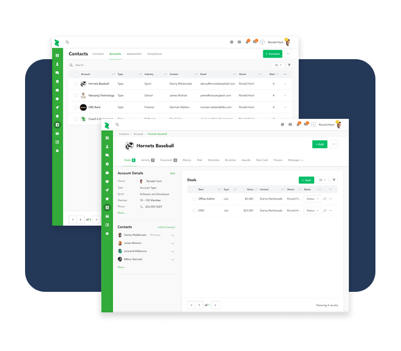 Simple contact management