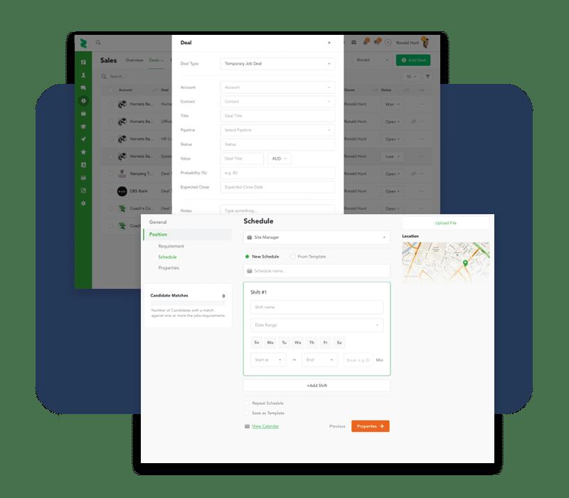 Configure deals and schedules