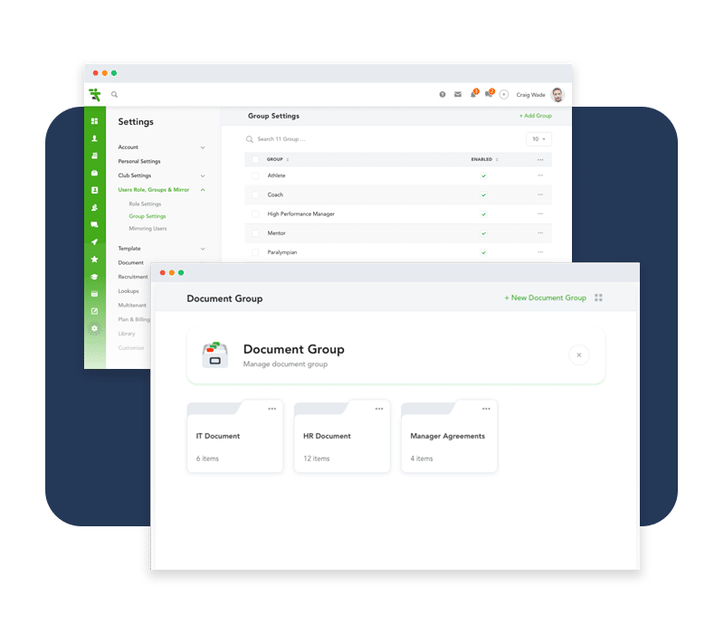 Manage and share documents