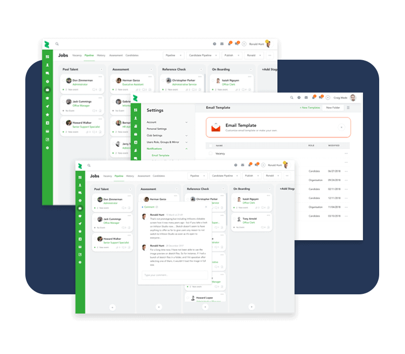 An automated workflow from start to finish, for all recruitment businesses.